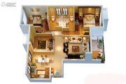 中联观云溪3室2厅2卫0平方米户型图