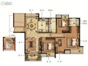 新加坡尚锦城4室2厅2卫138平方米户型图