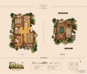 奥体玉园2室2厅1卫89平方米户型图