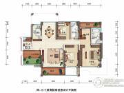 锦绣御园5室2厅2卫159平方米户型图