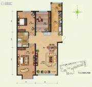 远大中央公园3室2厅1卫0平方米户型图