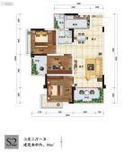 南山一号二期3室2厅1卫0平方米户型图