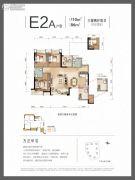 弘阳时光澜庭3室2厅2卫86--110平方米户型图