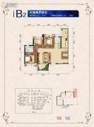邦泰・国际社区(北区)3室2厅2卫91平方米户型图