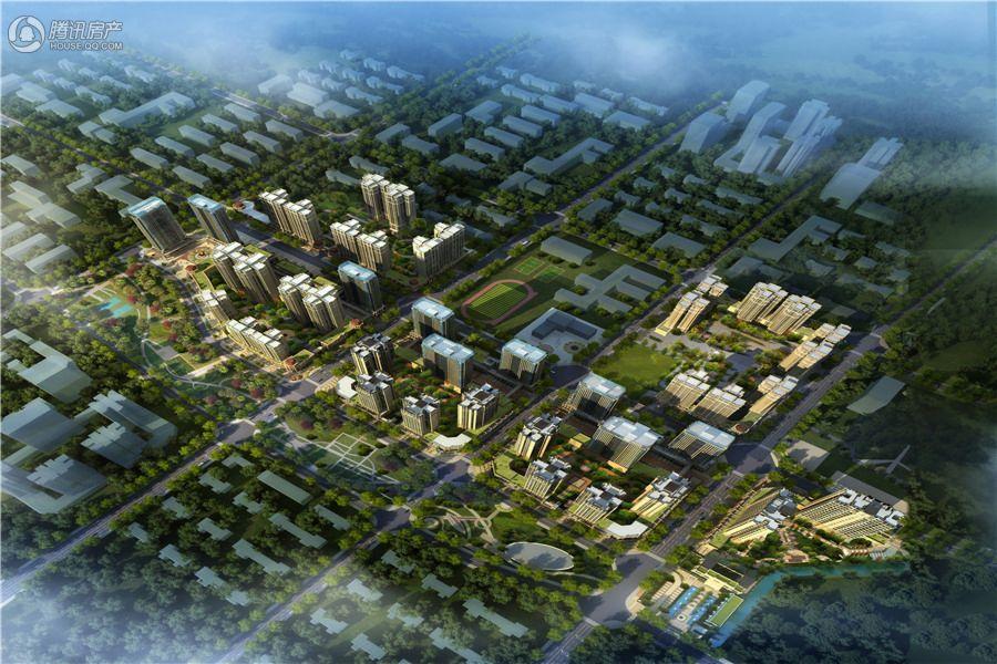 泰博理想城鸟瞰效果图