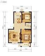 鑫石万商汇2室2厅1卫0平方米户型图