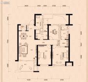 金茂广场4室2厅3卫197平方米户型图