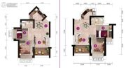 碧桂园金沙滩1室1厅1卫0平方米户型图