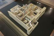 绿地香颂公馆3室2厅2卫90平方米户型图