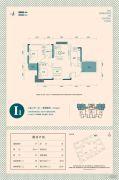 东津世纪城2室2厅1卫102平方米户型图