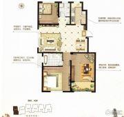 阳光首院3室2厅2卫110平方米户型图
