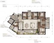 重庆・阳光城4室2厅3卫0平方米户型图