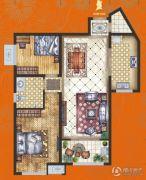 腾业・国王镇2室2厅1卫0平方米户型图