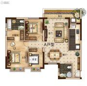 曲靖恒大绿洲3室2厅2卫125平方米户型图