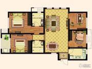 天齐・奥东花园4室2厅2卫132平方米户型图