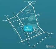 中海湖畔岚庭交通图