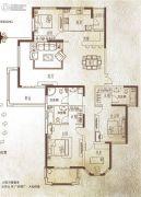 万泰麓溪公馆4室2厅3卫208平方米户型图
