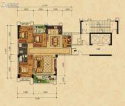 尚东一品4室2厅2卫0平方米户型图