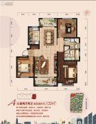 荣盛・锦绣外滩3室2厅1卫0平方米户型图