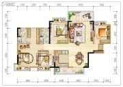 碧桂园森林里4室2厅2卫143平方米户型图