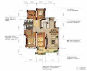 城投地产・智禧湾4室2厅2卫168平方米户型图