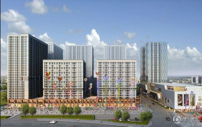 红星国际广场效果图商业街