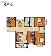 昆吾名家4室2厅2卫0平方米户型图