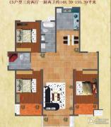友谊嘉御龙庭3室2厅2卫0平方米户型图