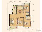 雅厦・中央山水3室2厅2卫137平方米户型图