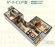 强佑・府学上院2室1厅2卫0平方米户型图
