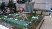 红星商业广场一期沙盘图