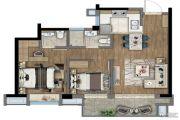 新里波洛克公馆2室2厅2卫0平方米户型图