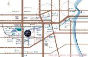 新城上坤樾山交通图