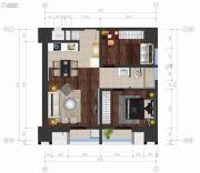 Ccmall2室2厅1卫0平方米户型图