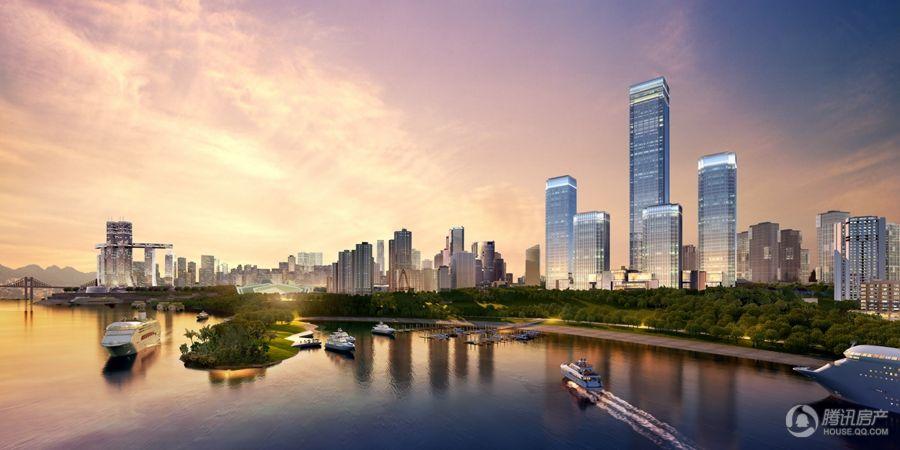 重庆国金中心项目效果图