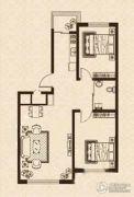 益和国际城2室2厅1卫82平方米户型图