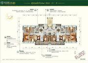 碧桂园天麓山4室2厅2卫143平方米户型图