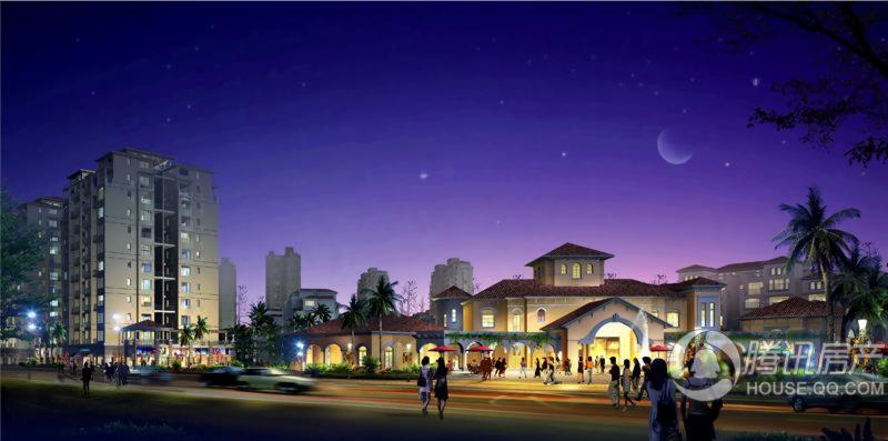 珠光新城夜景效果图