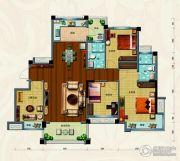 淄博碧桂园4室2厅2卫144平方米户型图