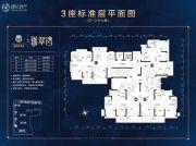 锦绣海湾城3室2厅2卫103--115平方米户型图