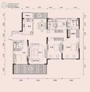 恩瑞御西湖4室2厅3卫250平方米户型图