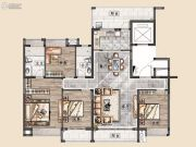 美的・顺城府4室2厅2卫148平方米户型图