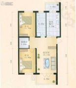 金都幸福里2室1厅1卫0平方米户型图