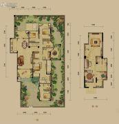 龙湖源著4室2厅2卫164平方米户型图