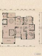 茵悦豪苑5室2厅3卫239平方米户型图