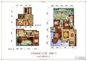 皇冠壹品5室3厅2卫291平方米户型图