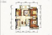 碧桂园海昌天澜3室2厅1卫89平方米户型图