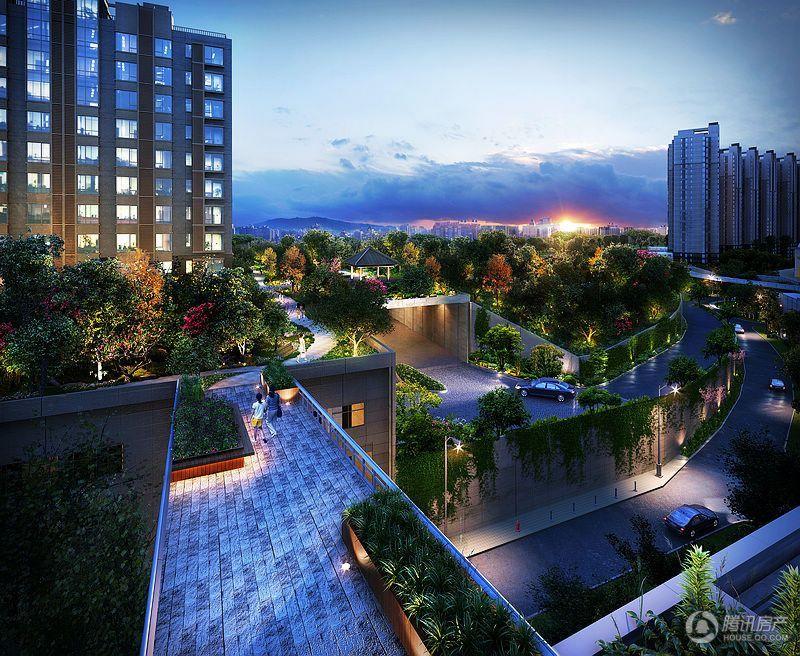 北京生态健康宅院 87平2居高层均价58500元/平