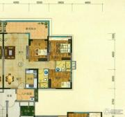 珠光流溪御景3室2厅2卫110平方米户型图