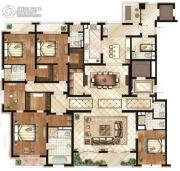 万源城御�E5室2厅5卫408平方米户型图